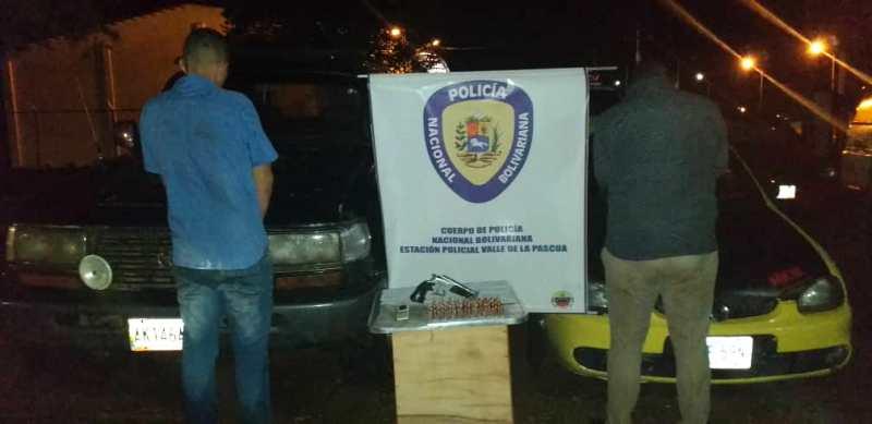 """""""El Catire"""" y """"El Gordo"""" detenidos por la Policía Nacional Bolivariana (PNB)"""