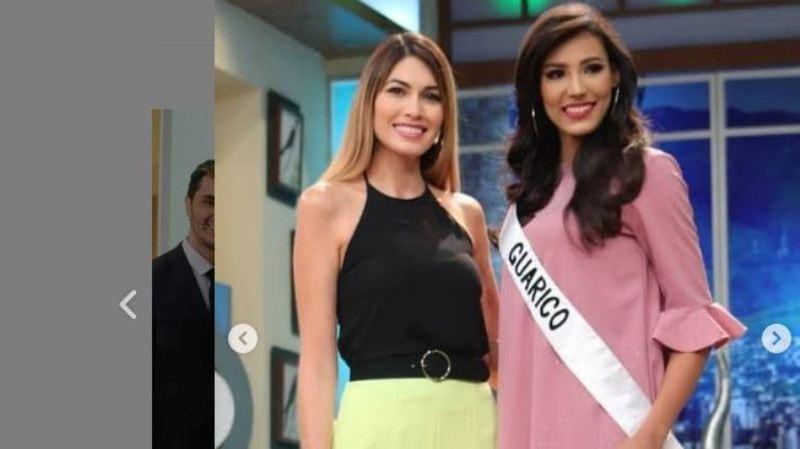 María Betania Bracho Montenegro recibió la banda de Miss Guárico 2019
