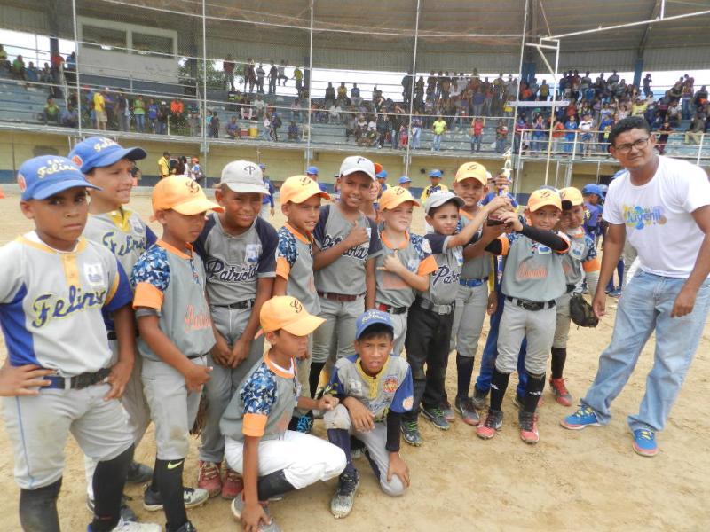 Roscio es el equipo subcampeón estadal de béisbol preinfantil