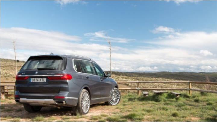 El portento de SUV, BMW X7