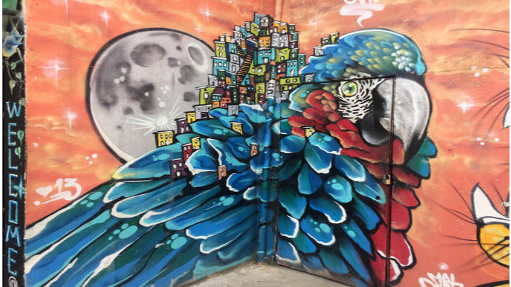 Un centro de arte, la Comuna 13, sencillamente vibrante.