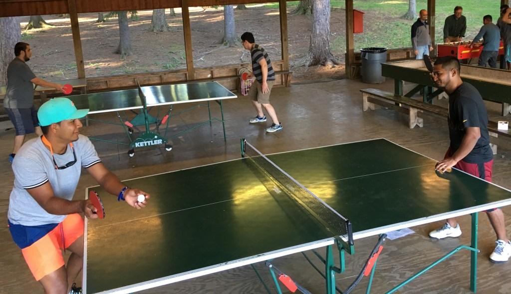 Los participantes realizaron actividades recreativas