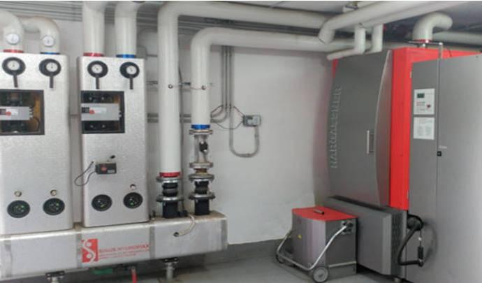 Cambia a calefacción por biomasa, ecológico, económico y limpio.
