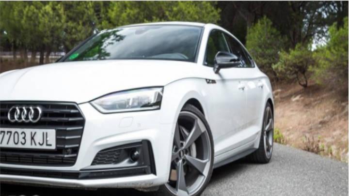 El Audi A5 Sportback no pierde el gusto a pesar del tiempo,funcional y de buen diseño