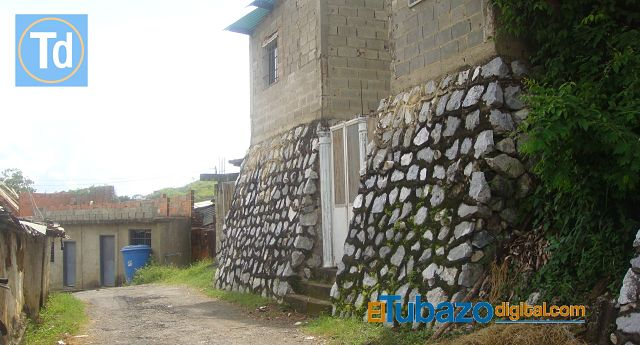 Casa de Leomar Gil. Lugar donde fue baleado. Foto: El Tubazo Digital.
