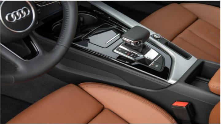 La caja S Tronic da comodidad de uso y consumo eficiente.