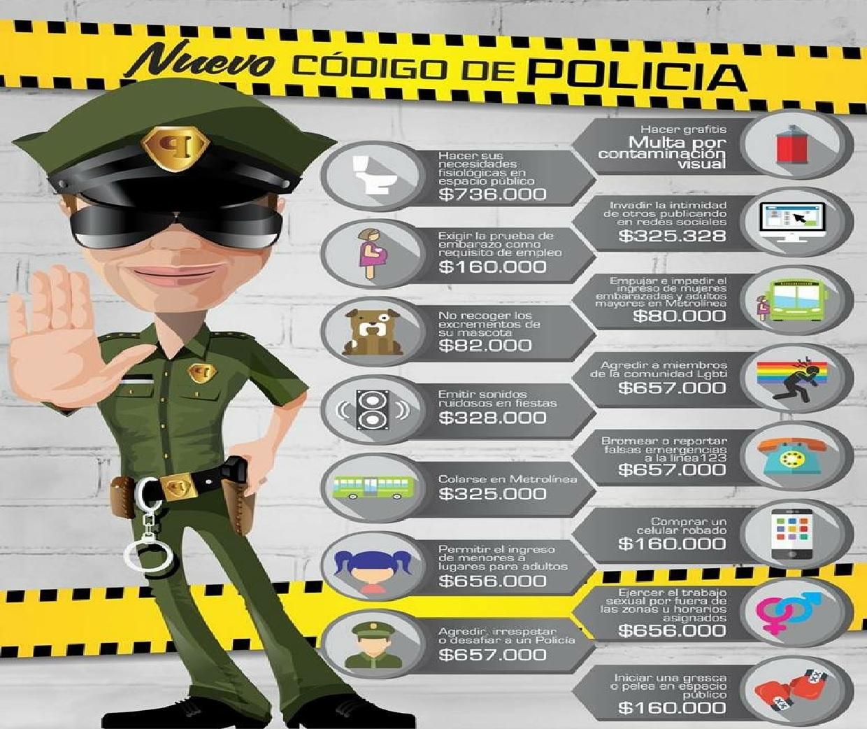 Entra en vigencia nuevo código de Policía que incluye 13 comportamientos a mejorar en el Sistema Masivo