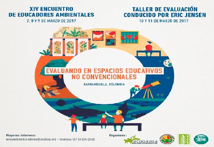 Acopazoa, Instituto Humboldt y Zoológico de Barranquilla invitan al XIV Encuentro de Educadores Ambientales: 'Evaluando en espacios educativos no convencionales'