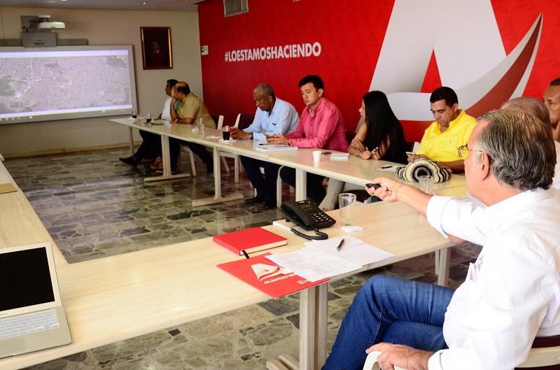 Concejales se suman al Plan Soledad II que inició el gobernador Verano