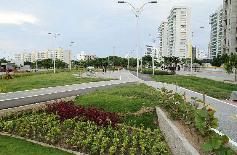 Grupo Argos le entrega a Barranquilla el Parque Palmas del Río y el Manual de Silvicultura Urbana