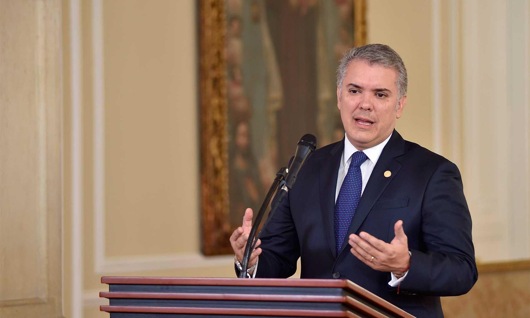 Presidente Duque anunció la recompensa de $3.000 millones por cada delincuente del video de alias 'Iván Márquez'