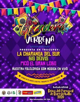 ¡La Gozadera! llega a Trucupey con Sabor y Alegría Carnavalera