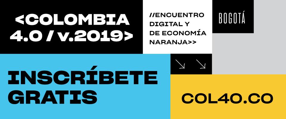Colombia 4.0 abrirá este martes sus inscripciones