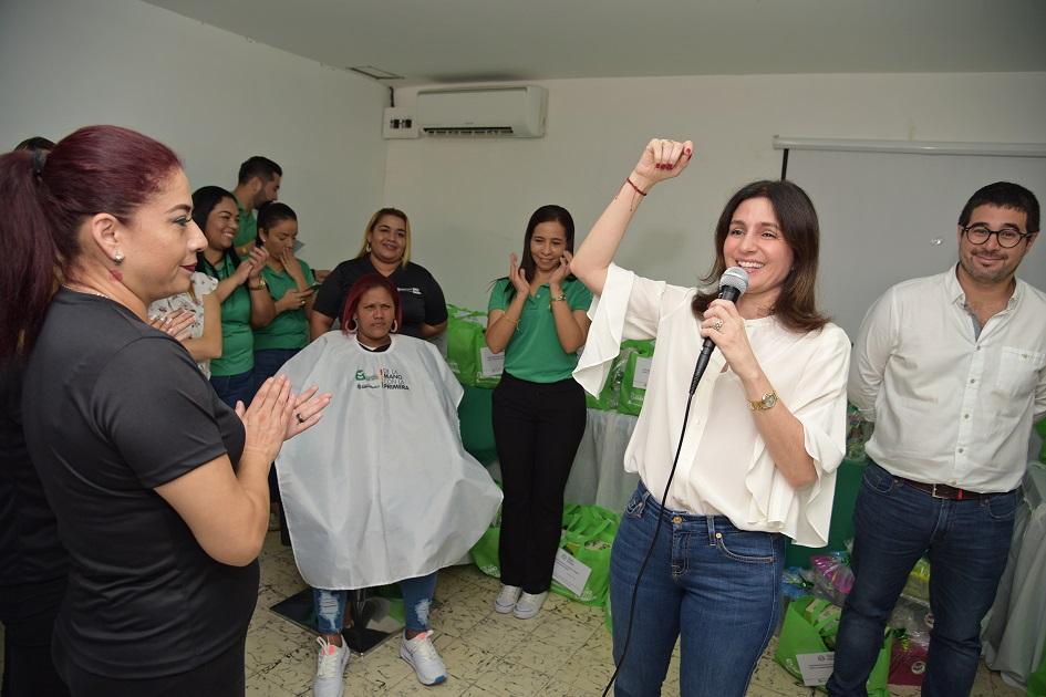 Mujeres del Centro de Rehabilitación Femenino se capacitan, de la mano con el Distrito