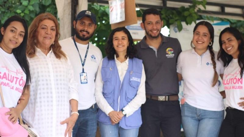 Programa 'Salutón' ha atendido a 6 mil 684 usuarios, en 25 barrios de Soledad