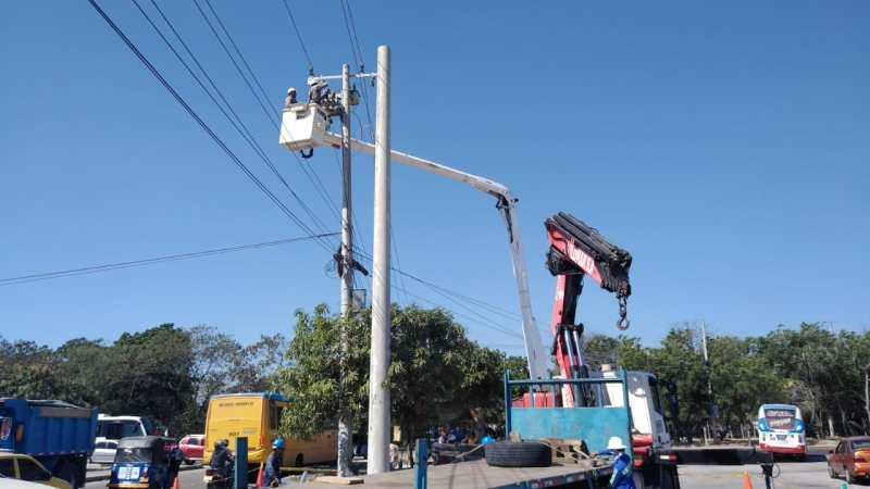 Hoy Electricaribe realizará adecuaciones  en sectores de Soledad