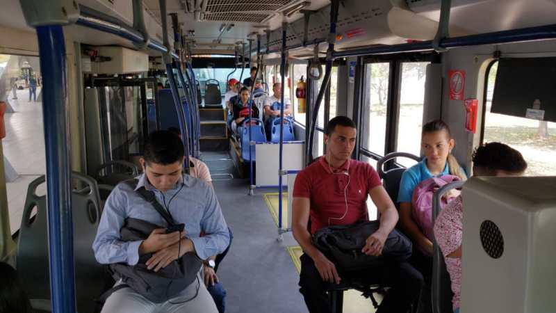 Por emergencia sanitaria, transporte público reporta baja del 60% en usuarios movilizados