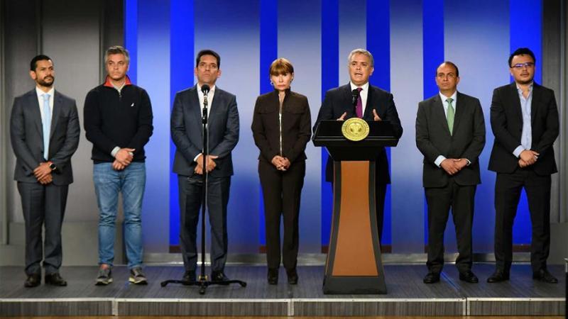 Gobernadores y Alcaldes del país le expresan al Presidente Duque que confían en su liderazgo y que van a trabajar de su mano, frente al COVID-19
