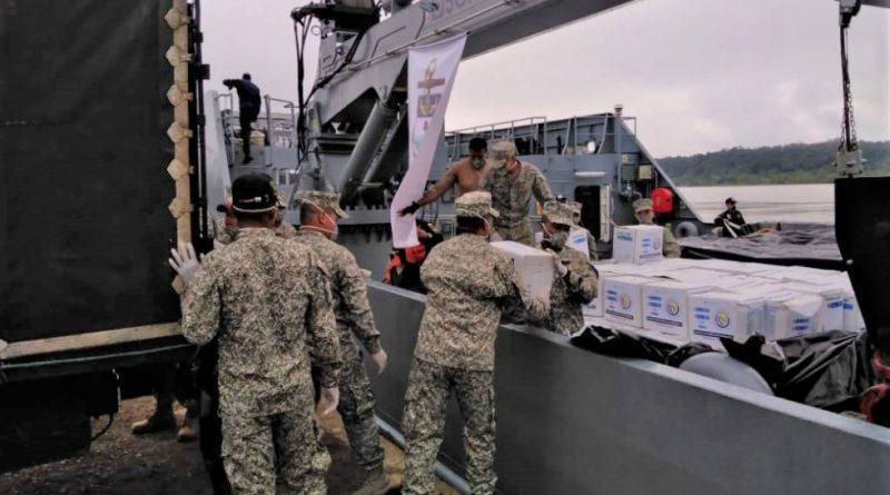 Ejército, Fuerza Aérea y Armada, dos meses de arduo trabajo para apoyar a los colombianos ante el covid-19