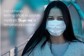 MOVISTAR INSTALA CÁMARA TÉRMICA EN CENTRO HOSPITALARIO TEMPORAL EN CORFERIAS