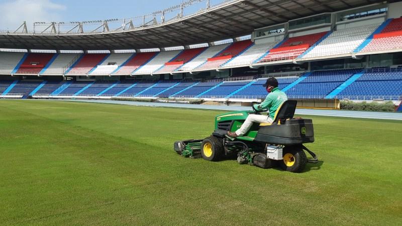 Distrito planea reemplazar la grama del estadio Metropolitano, como preparación a los próximos eventos deportivos