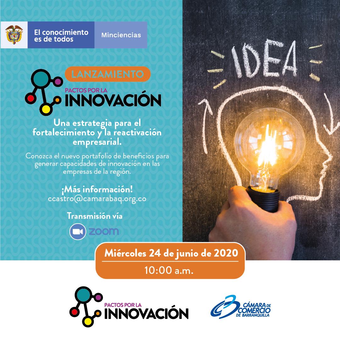 Nuevos Beneficios de Pactos por la Innovación para Barranquilla