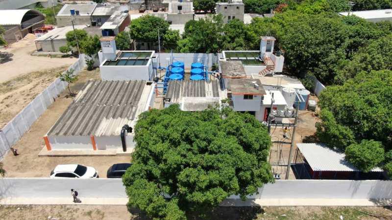 Aguas de Malambo realizará lavado de tanque de almacenamiento en Planta Concord