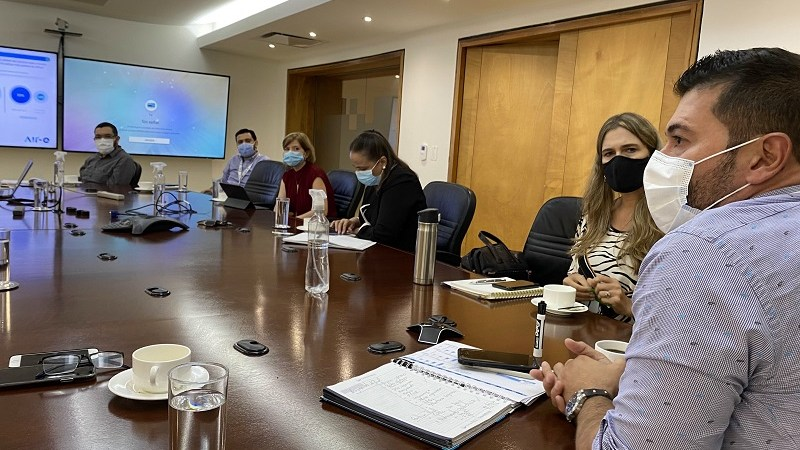 Empresarios se reunieron  con Gerente General de Air-e