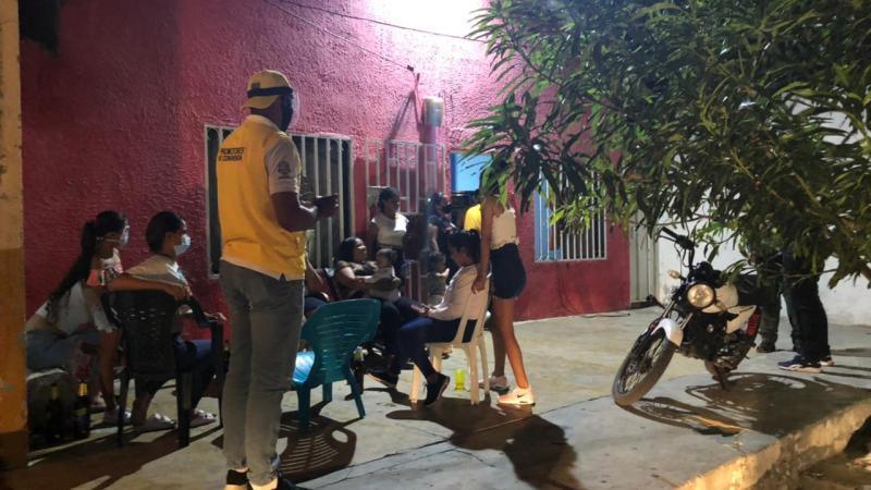 ¿Dónde ocurren los contagios de COVID-19 en Barranquilla?