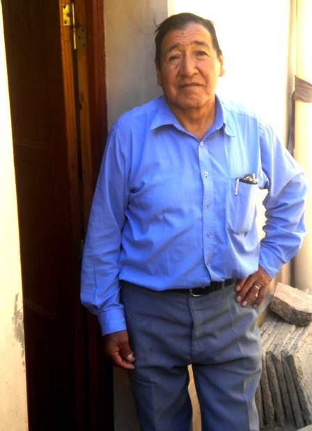Don Celestino Velazquez, dueño de casa