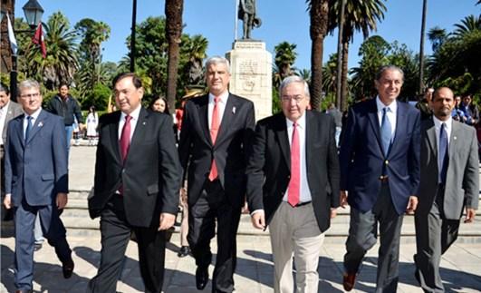El vicegobernador Zottos encabezó los actos celebratorios en Salta