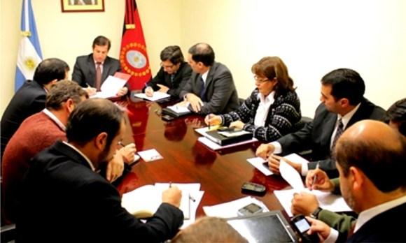 Reunión del gabinete de ministros