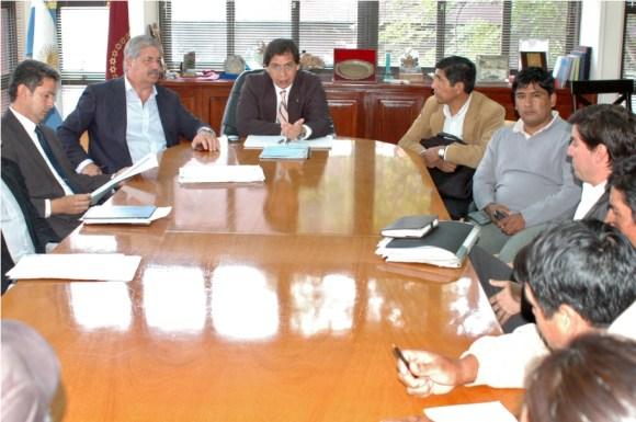 El gobierno de Salta recibió a los pobladores de Mecoyita, en Santa Victoria Oeste