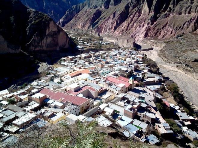 Vista del pueblo. (Foto: Pablo Harvey).