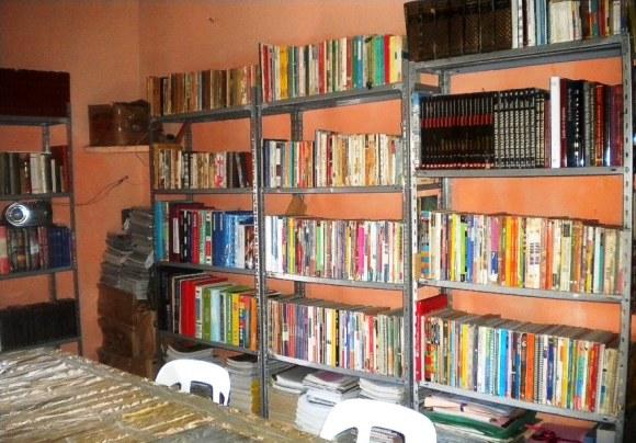 Sector lateral derecho, biblioteca de KURMI