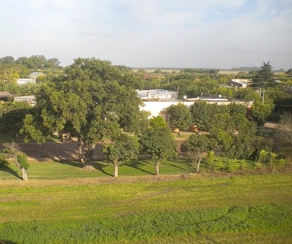 Vista aérea 2: San Eduardo hacia San Gregorio