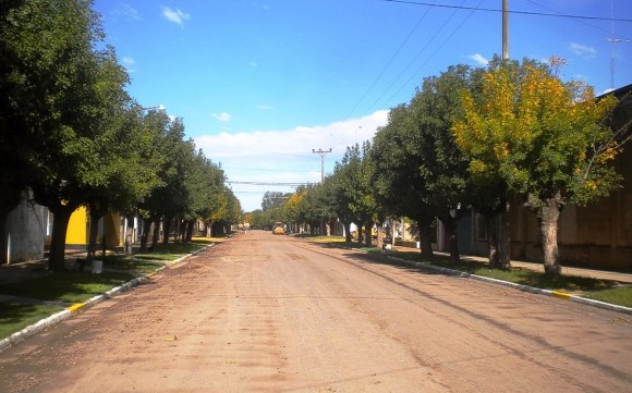 Una calle de San Eduardo