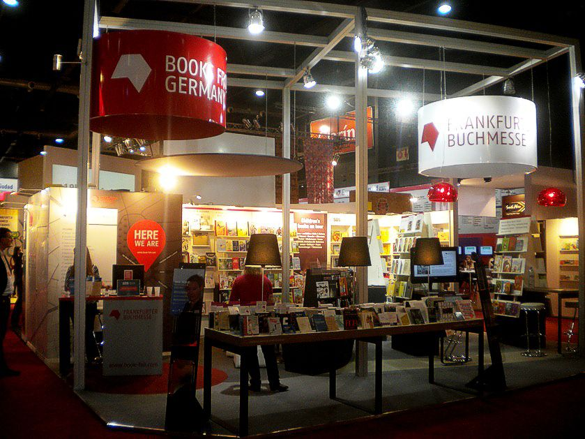 Stand de Alemania. Feria del Libro