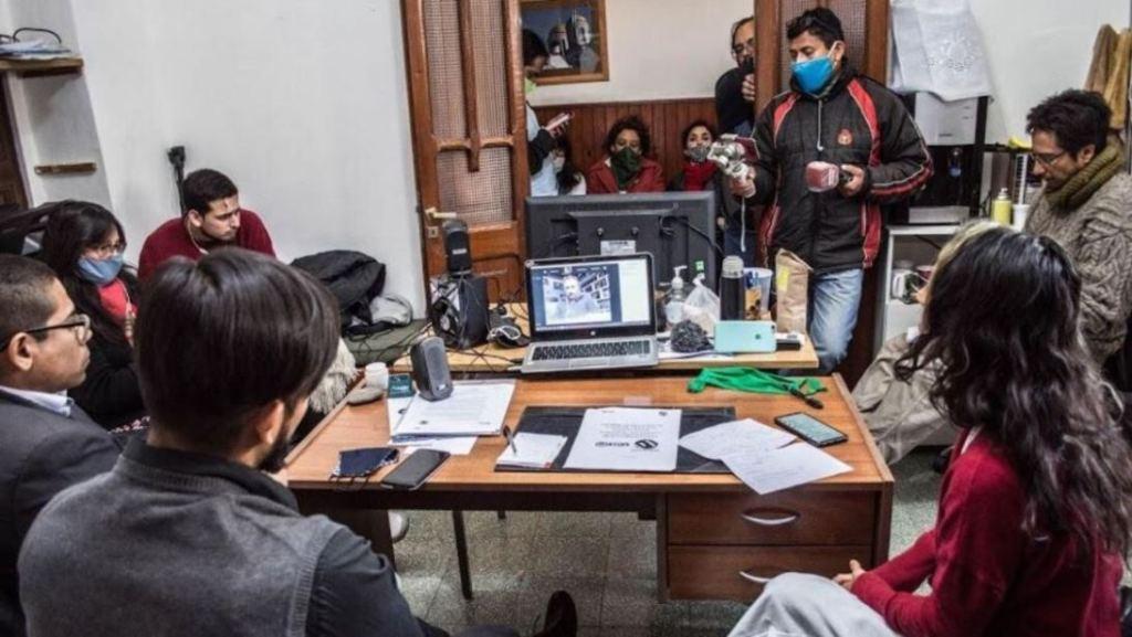 Encuentro virtual por tema Derechos Humanos