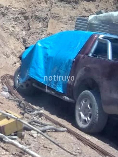 Hace días chocó un vehículo municipal en Iruya.