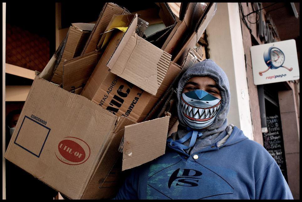 La pandemia en Salta, fotografía de Isidoro Zang.