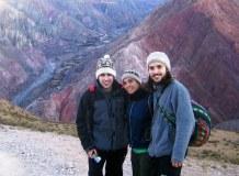 Disfrutando en la montaña