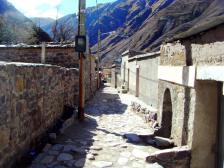 Una calle de San Isidro.