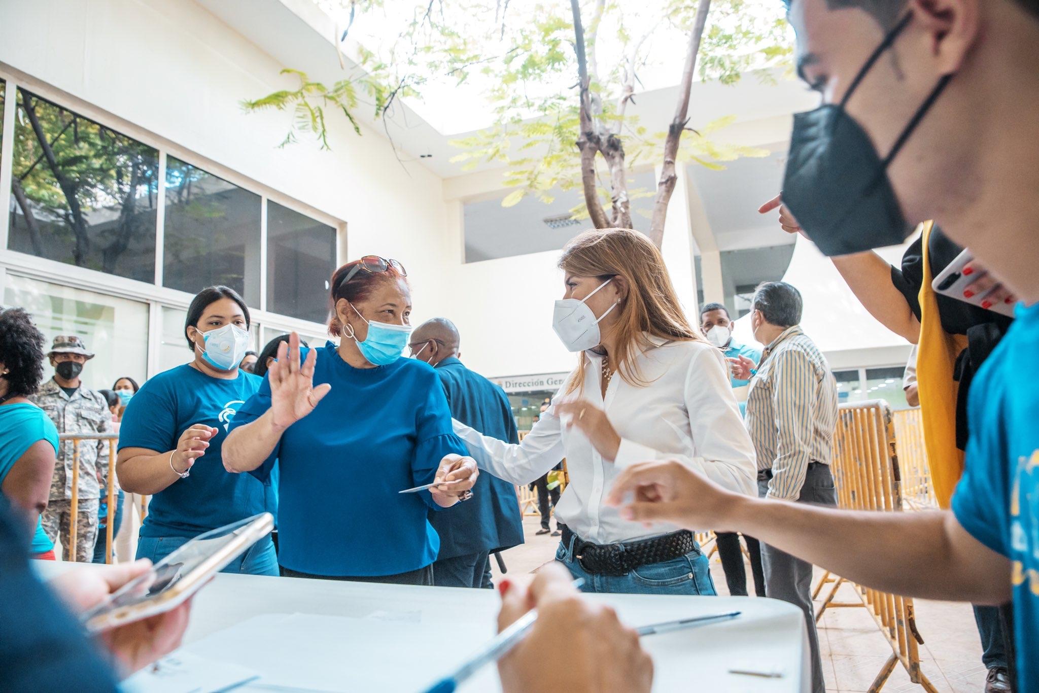 Alcaldesa Carolina Mejía dispuso operativo de prevención y pruebas Covid 19 para todos los colaboradores del ADN