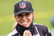 Sarah Thomas será la primera mujer en arbitrar el Super Bowl