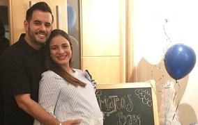 Yeri Peguero, esposa del merenguero Manny Cruz, está estable y su bebé está fuera de peligro