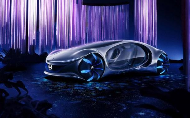 Presentan auto futurista sin volante e inspirado en la película 'Avatar', que se maneja con la mente