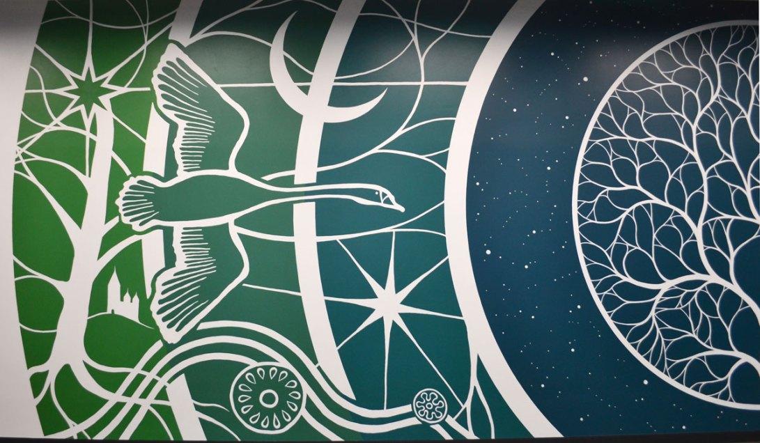Facebook Data Center Denmark Mural