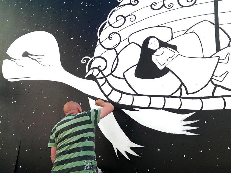 Mural Vesterbro Street Art Denmark