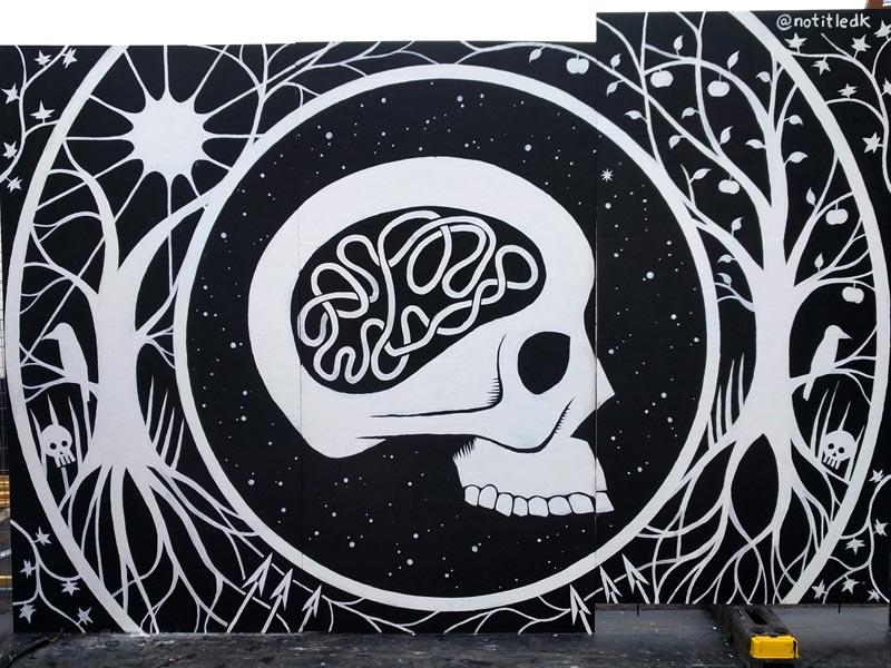 Mural upfest Street Art Denmark